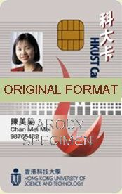 hong kong university studentid student identity hong kong, novelty id designs software design for hong kong kong university id