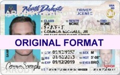 buy north dakota fake id scannable novelty fak eid with holograms